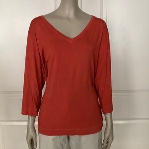Marina Rinaldi Viscose Jersey 3/4 Sleeve T-Shirt